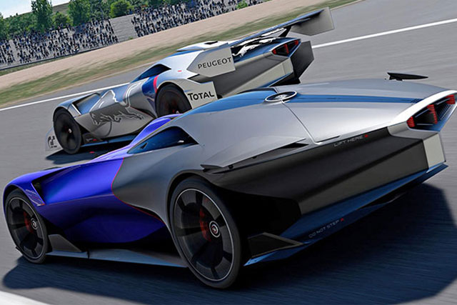 Peugeot L750 R Hybrid Vision Virtual Concept Introduced