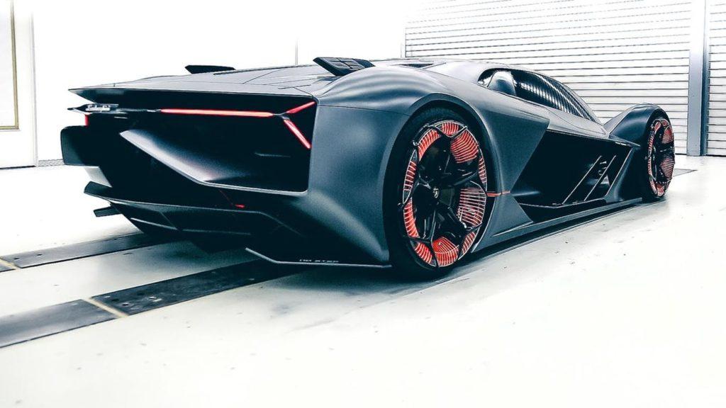 The Lamborghini Electric Hypercar Concept