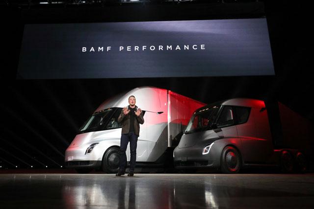 New Semi Truck