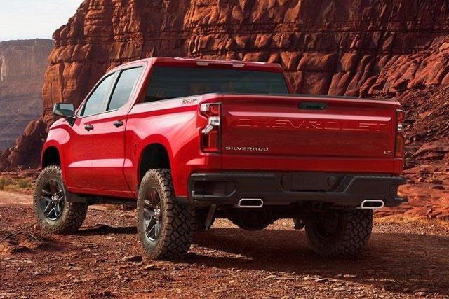 Chevy Trucks It Up