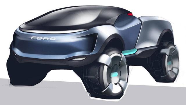 2050 Ford AL-V Ranger