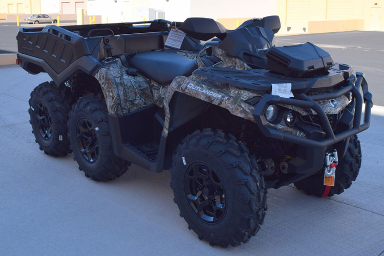 Can-Am Outlander Max 6x6 XT