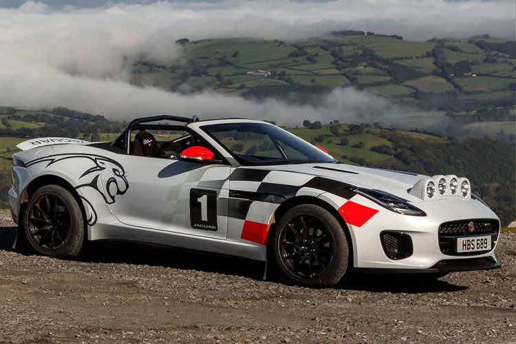 Jaguar F-Type Rally Concept
