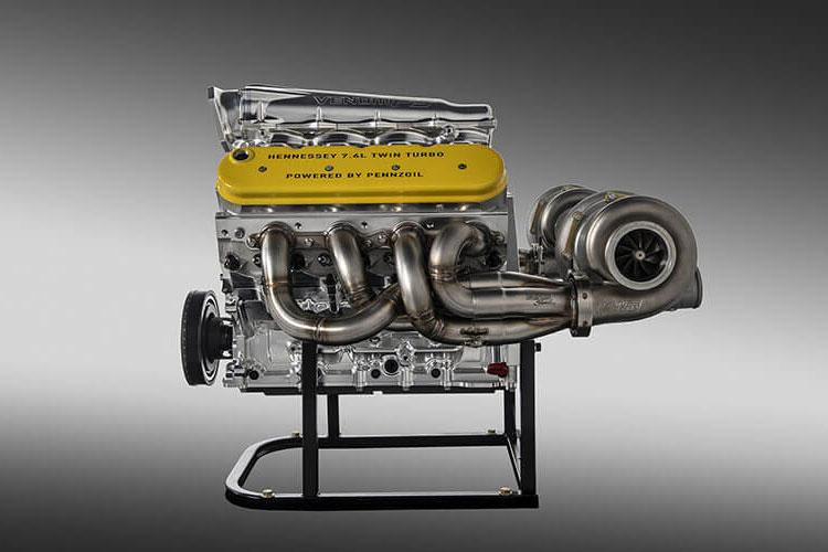 2019 Hennessey Venom F5 Engine