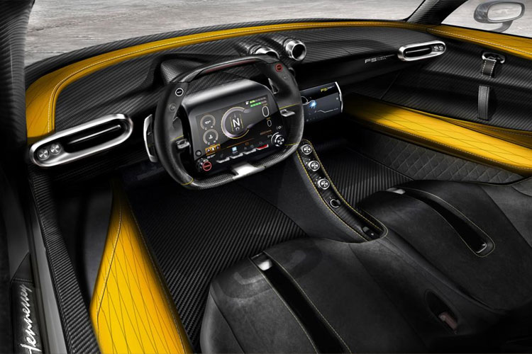 2019 Hennessey Venom F5 Interior