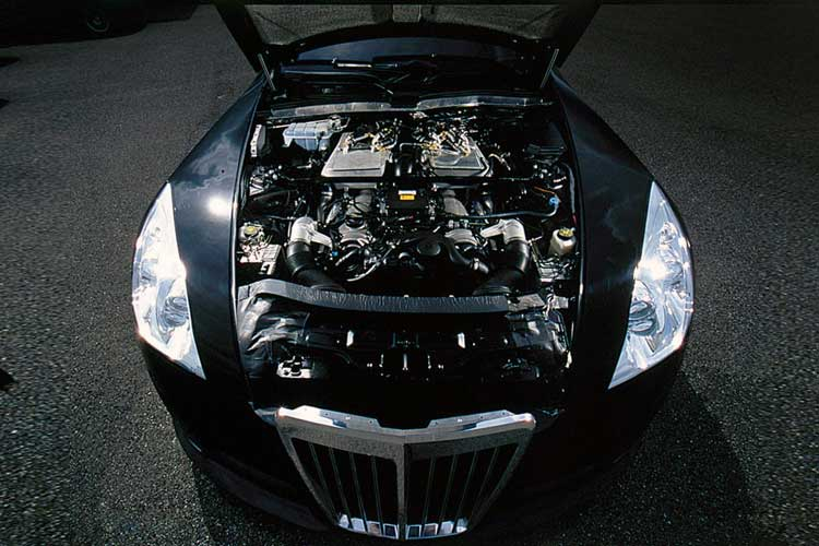 Maybach Exelero Engine