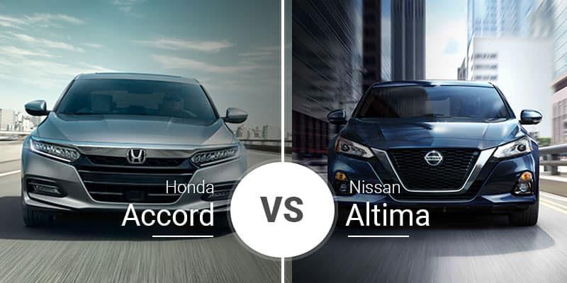 Honda Accord Vs Nissan Altima