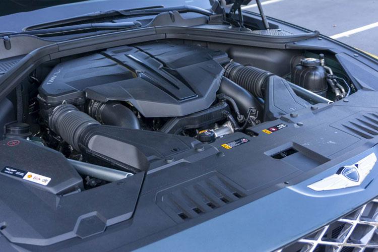 2021 Genesis GV80 Engine