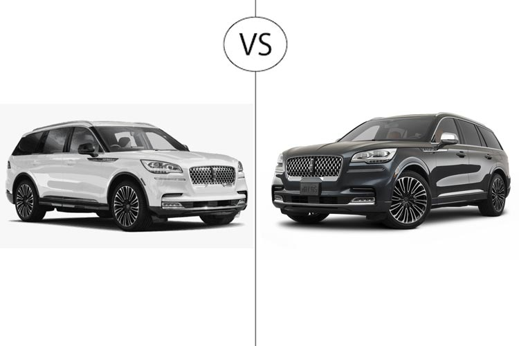 Difference between 2020 and 2021 Lincoln Aviator
